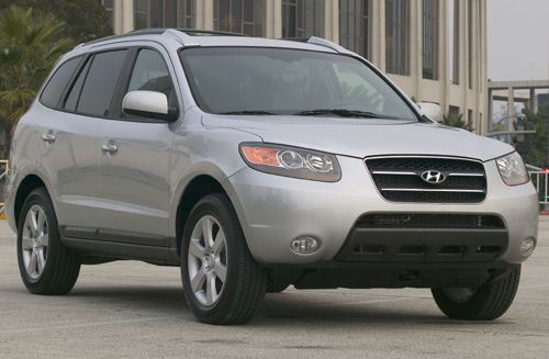 The 2007 GLS trim Hyundai Santa Fe SUV with automatic transmission is priced at $14,721 as of Oct. 23, 2010, and is a Top Safety Pick, according to the Insurance Institute for Highway Safety.