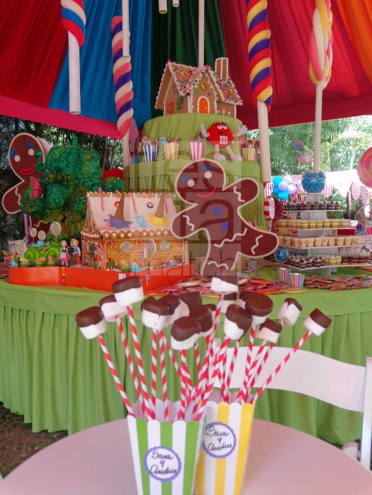 Dulces por doquier fiesta de caramelos pinterest - Fiesta infantil tematica ...