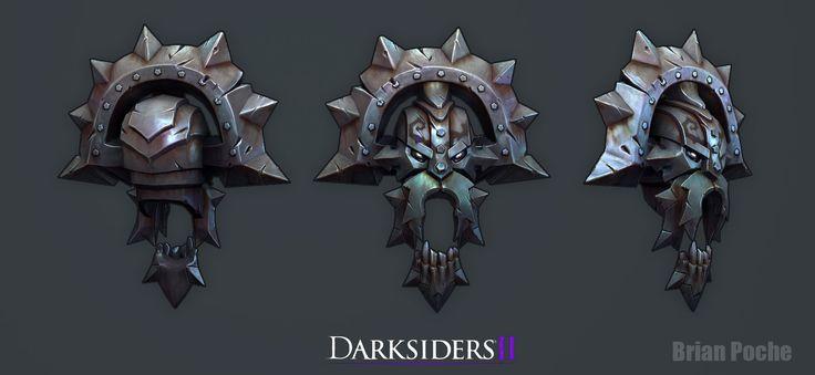ArtStation - Darksiders 2 Asssets, Brian Poche