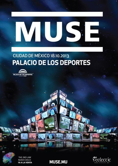 Muse en México  La preventa de boletos Banamex para los conciertos en el DF y Guadalajara se realizará los días 26 y 27 de junio, a partir de las 11:00 hrs. La venta general iniciará el 28 de junio a las 11:00 hrs. Más Info: http://nacorock.tumblr.com/post/53366365403/muse-en-mexico-la-preventa-de-boletos-banamex-para