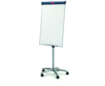 Easel - Is a whiteboard on wheels (three locking), it's height adjustable. Magnetic dry erase board 100 x 70cm 5 year guarantee on board surface
