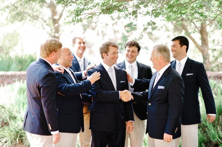 Groom and Groomsmen jackets. Myrtle Beach Pine Lakes Country Club Wedding Photography www.pashabelman.com Wedding Trends - Wedding Style Inspiration Boards | Wedding Planning, Ideas & Etiquette | Bridal Guide Magazine. Charleston | Columbia |