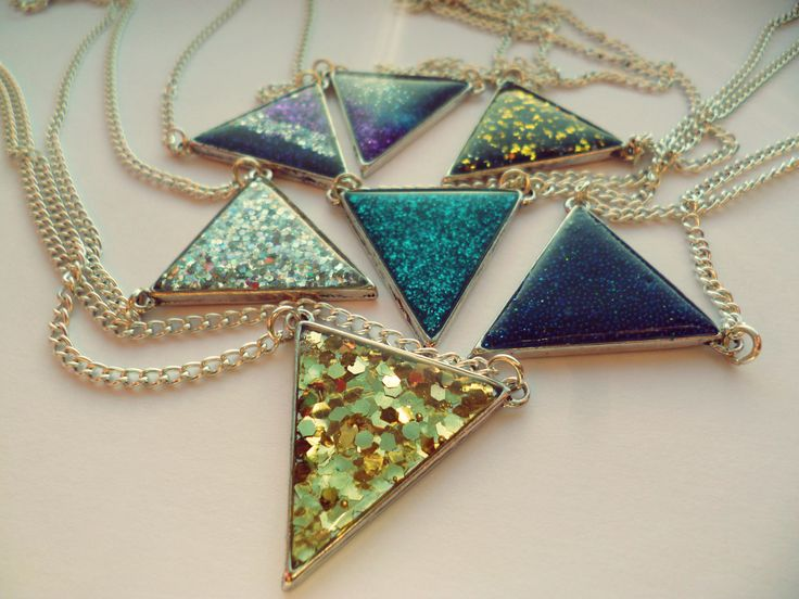 Glitz Trinity Necklaces  http://www.facebook.com/glitzblizzard