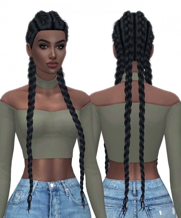 Sims 4 Hairstyles: Pin On Sims 4 Hairstyles