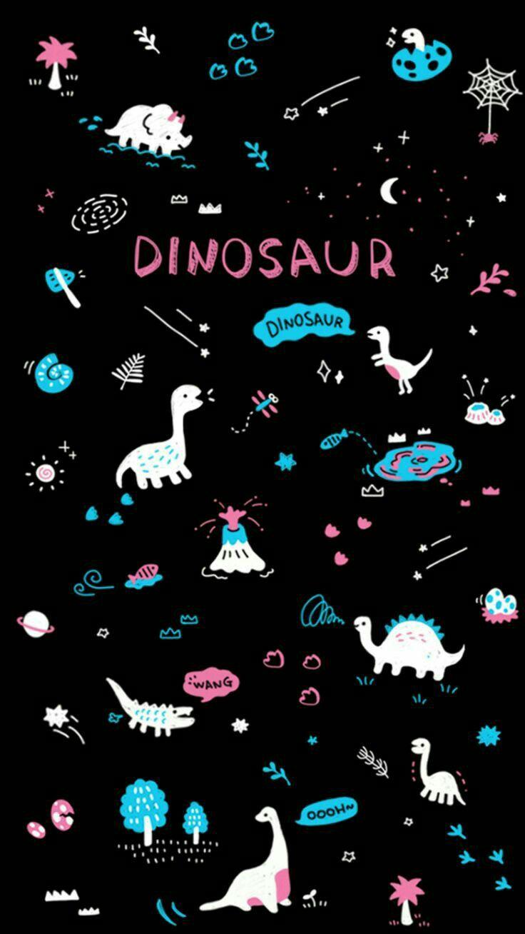 Pin By Abigail Escobar On Fondos Galaxy Wallpaper Dinosaur Wallpaper Wallpaper Iphone Cute