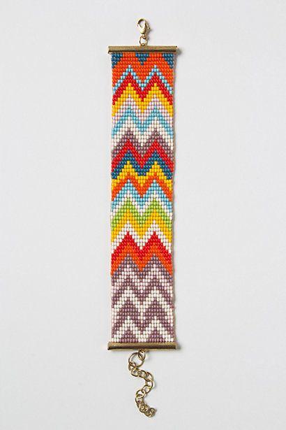 Zigzagged Bracelet #anthropologie