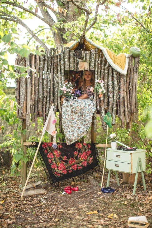 25+ best ideas about Backyard Fort on Pinterest | Tree house deck ...
