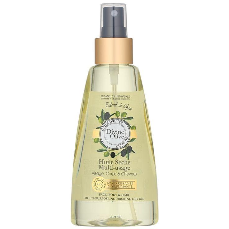 Jeanne en Provence Divine Olive suchý olej na tvár, telo a vlasy  150 ml