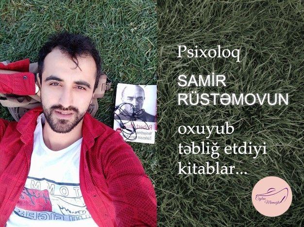 Psixoloq Samir Rustəmovun Oxuyub Təblig Etdiyi Kitablar Pdf Books Books Pdf