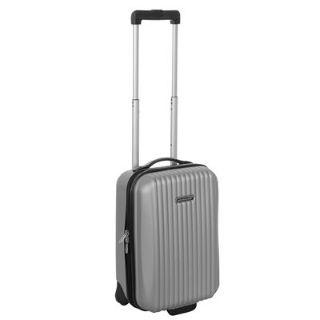 Dunlop Hard Suitcase Silver £16.99 #cabinfriendlysuitcases #suitcase