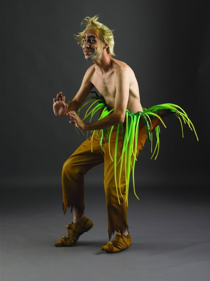 "He is our teacher. A little crazy, a little forget full, and smart. All teachers can teach us something. Cirque du Soleil ""Varekai"""