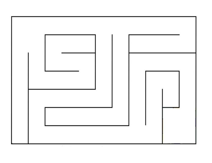 Marble Maze Pattern Craft Printables And Templates