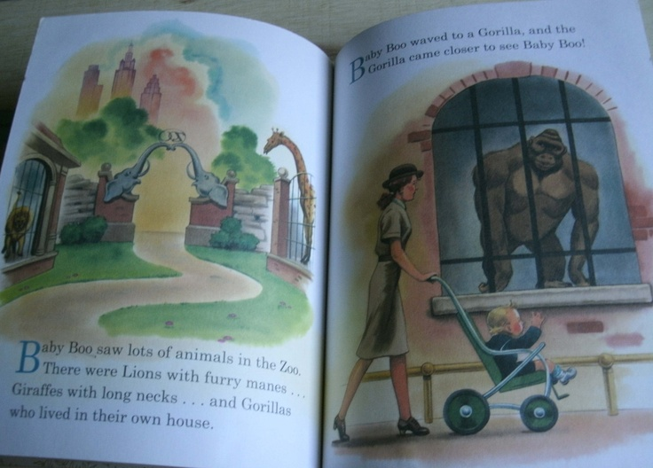 Little golden book babys day out for scrapbooking