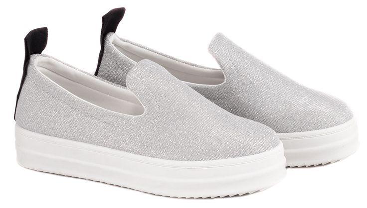 Pantofi sport silver LT66-1S. Reducere 22%.