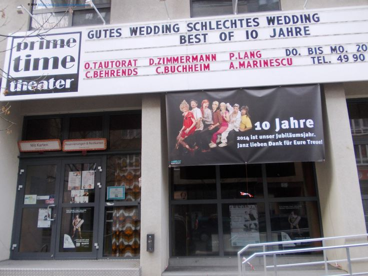 Prime time theater, in Wedding: http://primetimetheater.de/