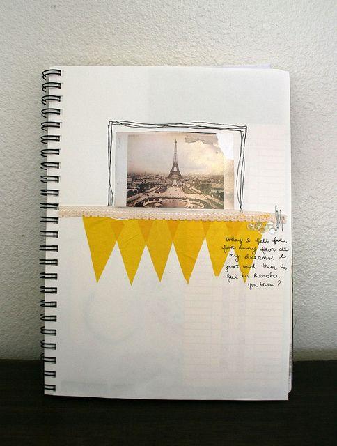 over 200 journal smash book ideas. LOVE