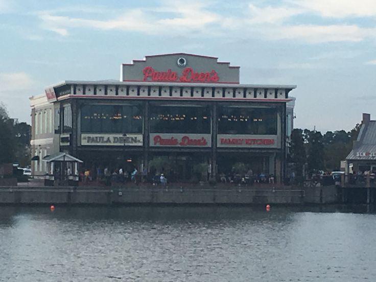 Paula Dean Restaurant in Mrytle Beach  South Carolina at the Broadway on the Beach