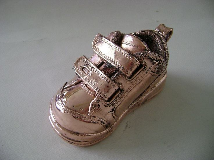 Your baby's first shoes coated with copper..by Shine4ever.gr