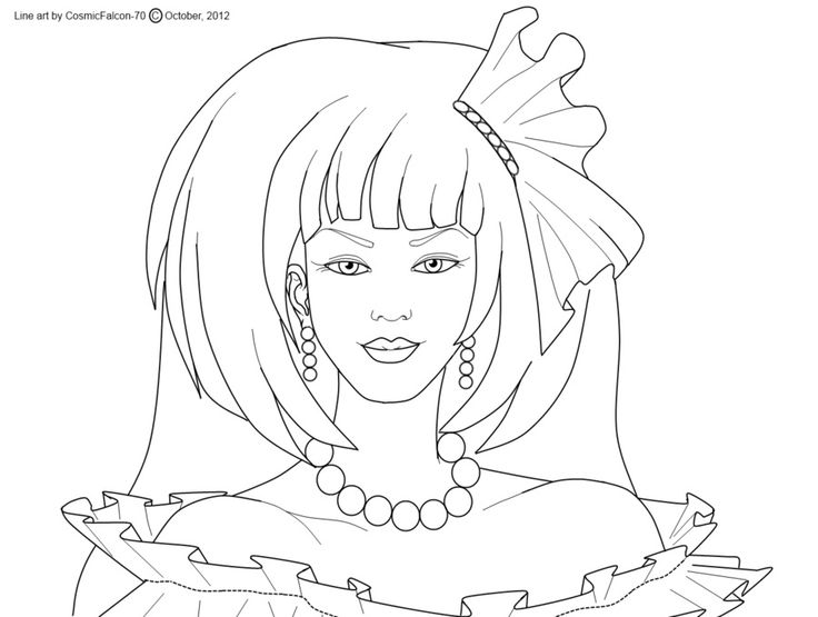 45 best Coloriage JEM images on Pinterest Coloring Coloring
