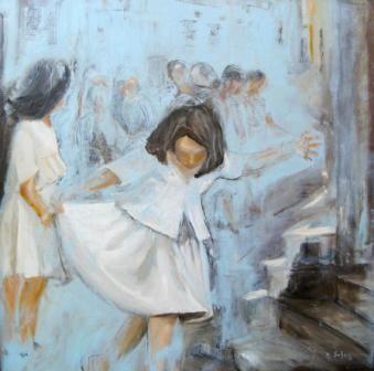 Le memorie d'olio di cartamo, mostra personale dell'artista Nancy Sofia