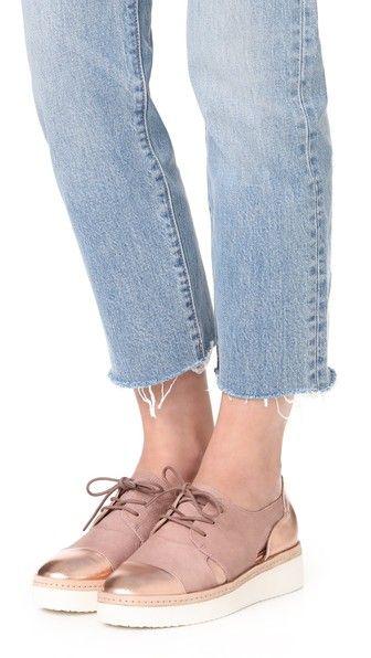 Steven Ботинки на шнурках Pippar с вырезами