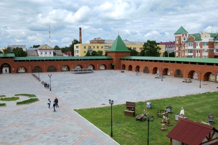 Царевококшайский кремль, Йошкар-Ола, Марий-Эл,
