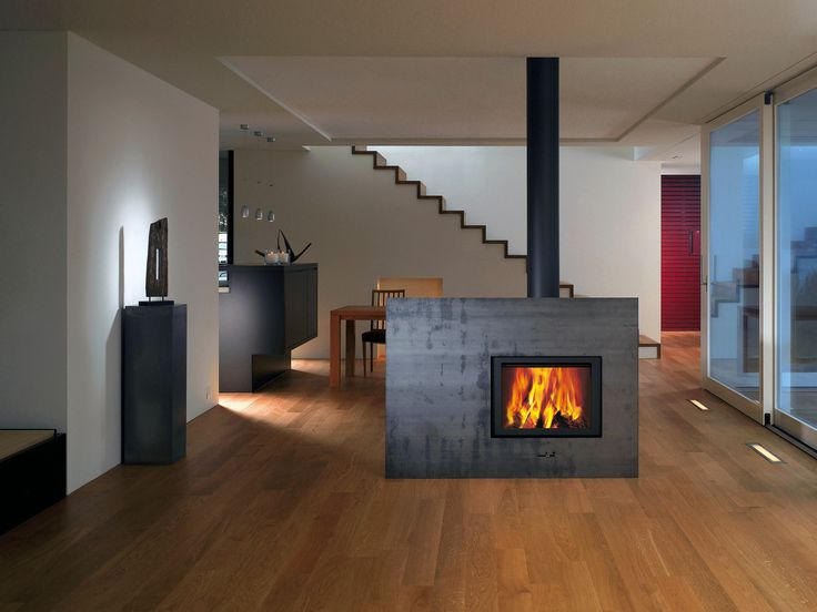 134 best Kamin images on Pinterest Modern fireplaces, Stoves and - wohnzimmer design modern mit kamin