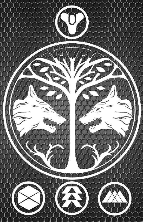 Destiny - House of Wolves Art Print