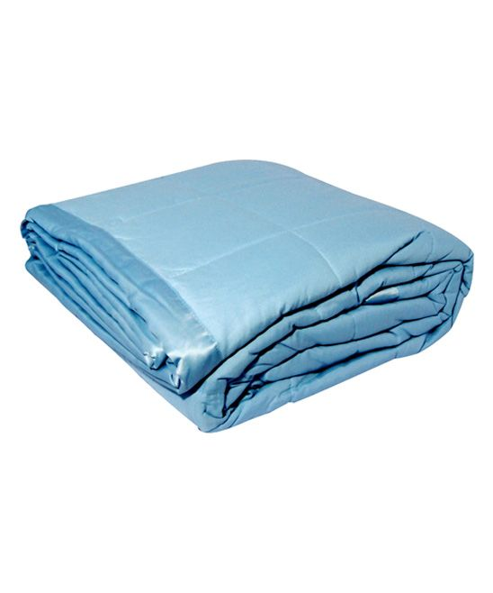 Blue Microfiber Blanket