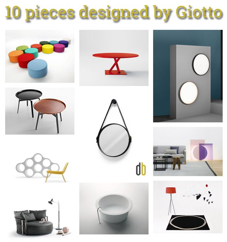 You would love our TopTen: 10 pieces designed by Giotto. Teke a look on designbest Magazine!!! |Una raccolta di immagini di oggetti per la casa dalla geometrica perfezione. Oggetti rotondi e sferici, dagli specchi ai tavolini, dalle vasche da bagno alle lampade. |  @poltronafrau @pcspa Desalto, @floslighting, @bebitalia, Successful living from diesel with moroso, @e15furniture, @cappellininext, @nanimarquina, @agapedesign #designbest #topten |