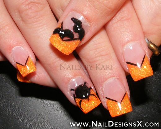 nice halloween nails - Nail Designs & Nail Art
