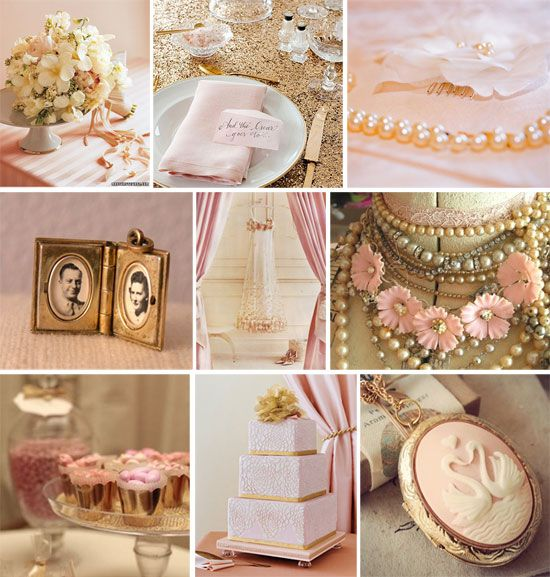 Love this for wedding shower decorations...the old time photo of my dad and mom would be a great touch!