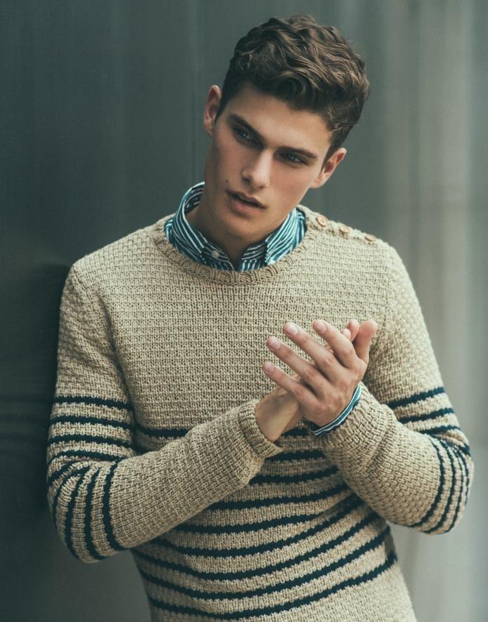 Justin Crichlow   IMG Models
