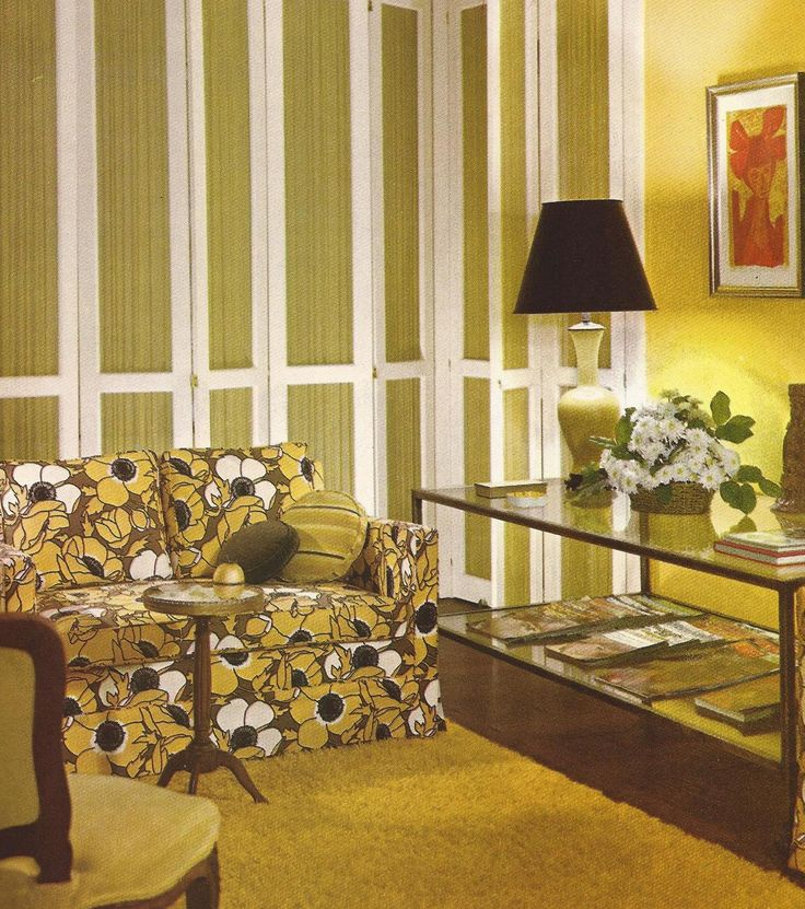 63 best images about interior design 1970 39 s style on for Home decor 1970s