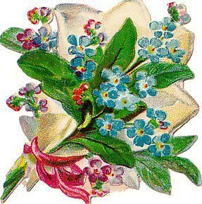 Oblate um 1880 Blumen,Rosenstrauß (61) de.picclick.com