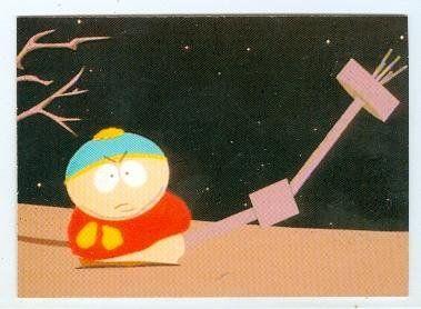 South Park trading card 1998 Comic Images #21 Cartman Alien Probe @ niftywarehouse.com #NiftyWarehouse #SouthPark #ComedyCentral #TVShows #TV #Comedy