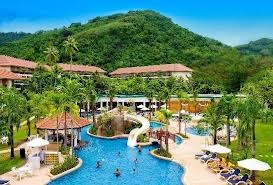 Emerald Resort around Bangalore is Recreated with swimming pool and play ground for children's.