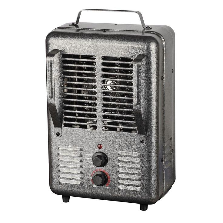 King 120 Volt Portable Electric Milk House Heater In Gray