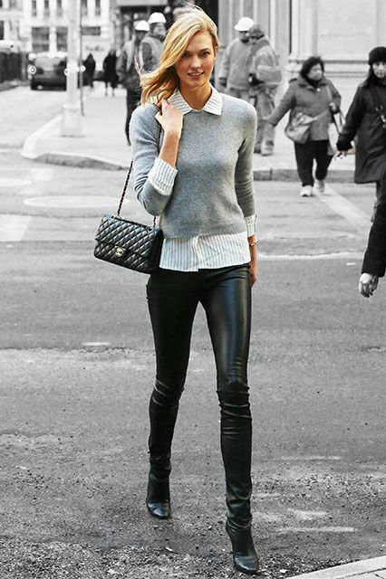 Celebrities That Wear Leggings as Pants - elle.com
