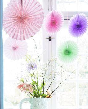 Faltrosette Set Assorted Colors