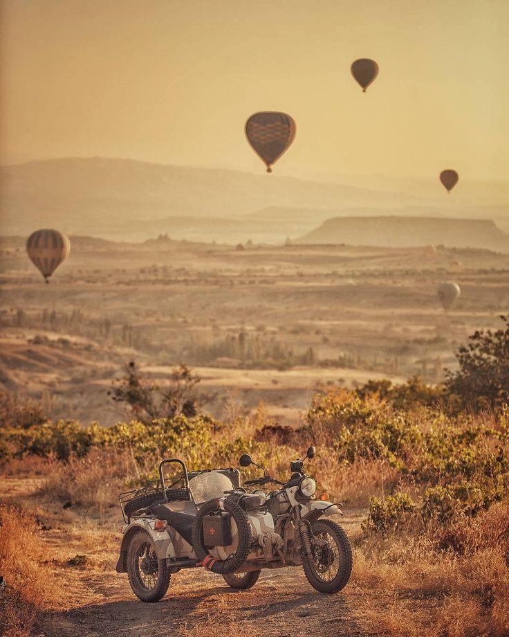 Ural motorcycle/ Amazing pic
