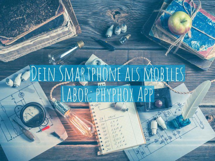 Mitarbeiter der RWTH Aachen haben diese Physik-App entwickelt, die euer Mobilgerät zum Messinstrument machen. Bildquelle: Shaiith /Shutterstock.com