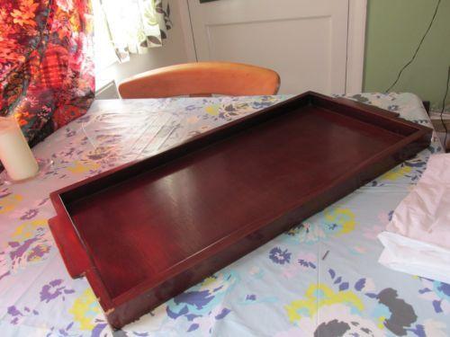Vintage-Handmade-Wooden-Tray