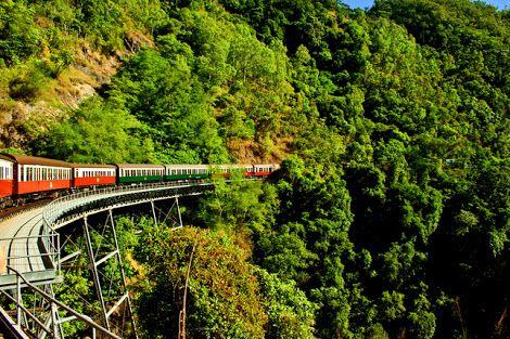 Kuranda Skyrail - a village in the rainforest, Cairns, Australia