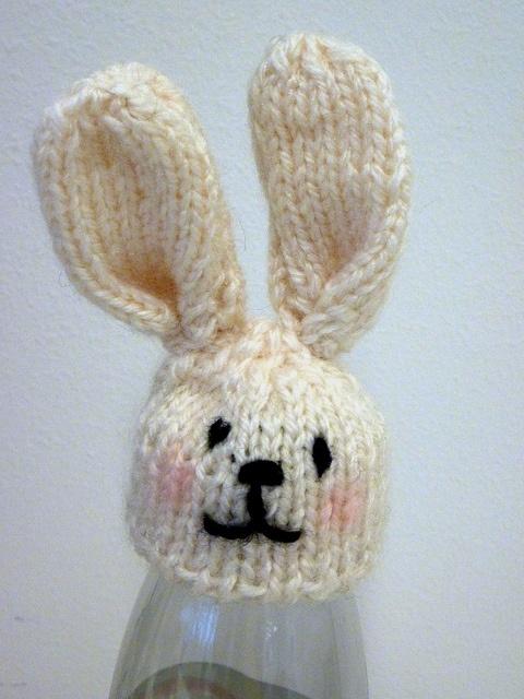 Bunny hat.
