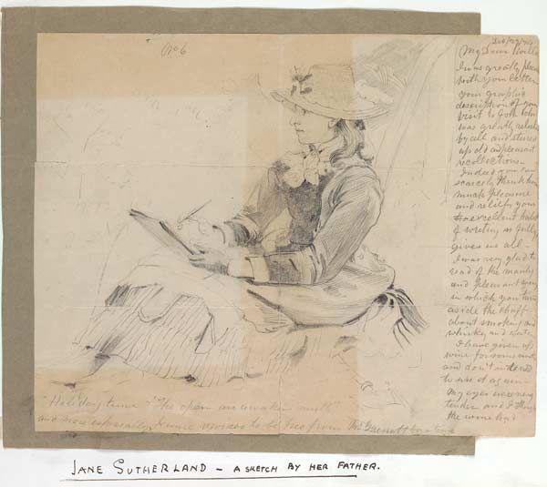 George Sutherland. Jane Sutherland. c. 1880