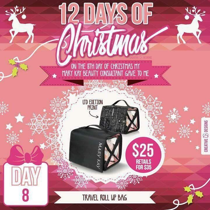 My 12 Days of Christmas Sale is back!!!!!!! Day 8! I offer FREE GIFT WRAPPING & have MANY Hostess & Teacher Gift ideas! Order online today: www.MaryKay.com/jennemanuel #MyMKLife #MaryKay #MK12DaysofChristmas #PinkChristmas Call/Text: 214-405-2512, Facebook: www.Facebook.com/jenniferemanuelmk, Twitter: @JenEEmanuel