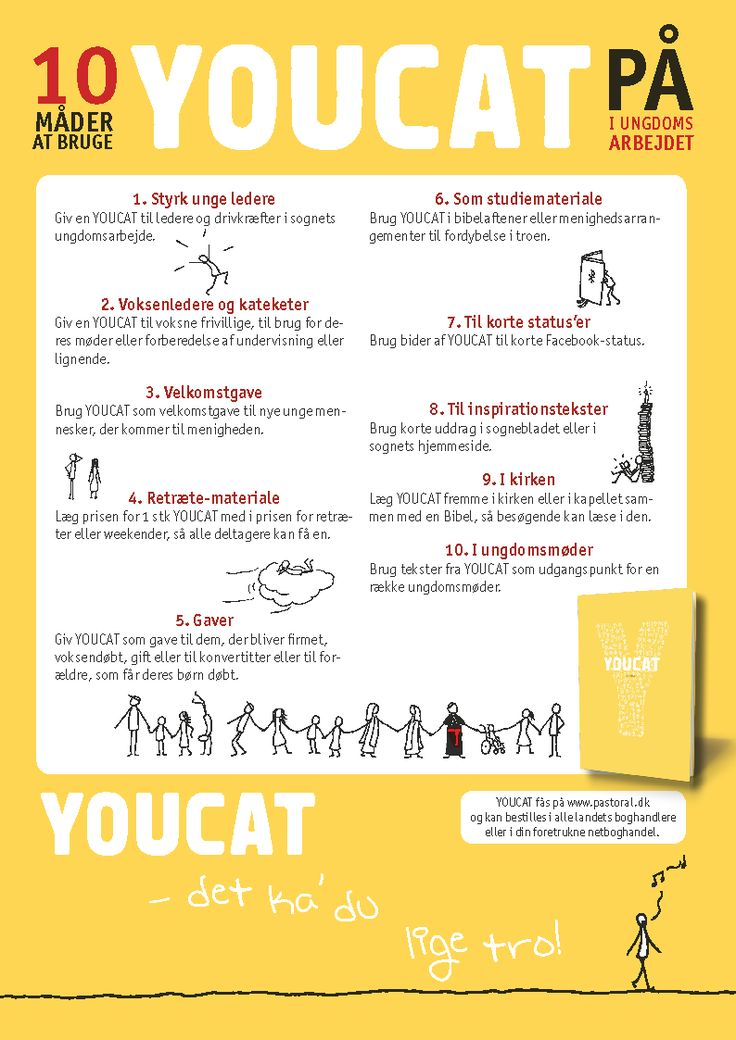 YOUCAT - Pastoral-Centret