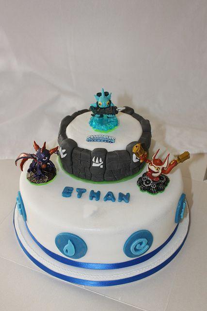 Happy Birthday Wildfire Cake