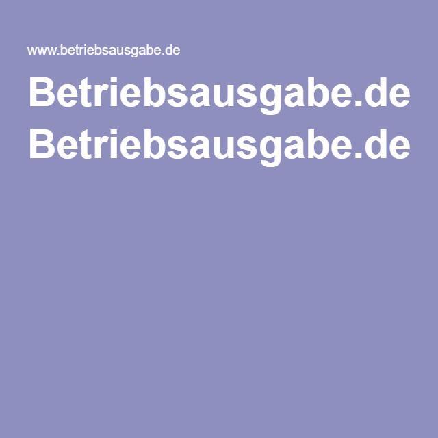 Betriebsausgabe.de